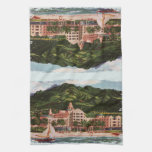 El hotel hawaiano real toallas de mano