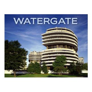 El hotel histórico de Watergate, Washington, C.C. Tarjeta Postal