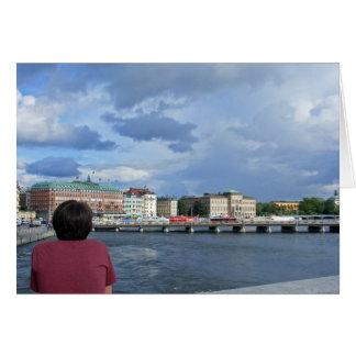 El hotel magnífico, tarjeta de Estocolmo Suecia