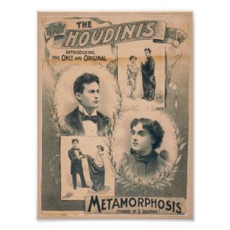 El Houdinis, 'cambio de la metamorfosis en 3 segun Poster