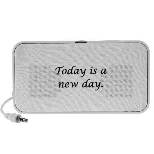 El hoy es un nuevo día iPhone altavoz