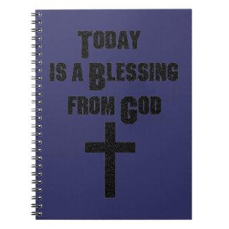 El hoy es una bendición de dios libreta