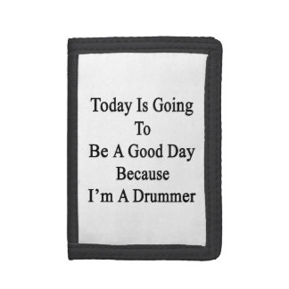 El hoy va a ser un buen día porque soy un tambor