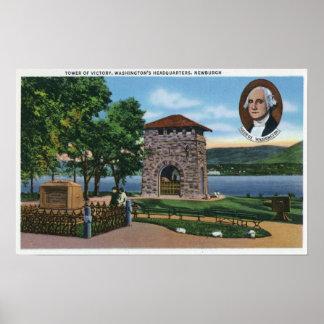 El HQ de George Washington, torre de la escena de  Impresiones