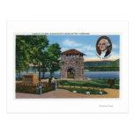 El HQ de George Washington, torre de la escena de Postal