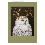 El Hudson la tarjeta nevosa del búho