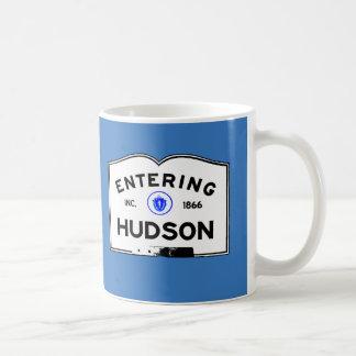 El Hudson que entra Taza Básica Blanca