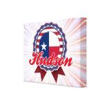 El Hudson, TX Impresión En Lona Estirada