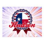 El Hudson, TX Tarjeta Postal