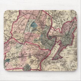 El Hudson, unión, Essex Lechuga romana, NJ Alfombrillas De Ratones