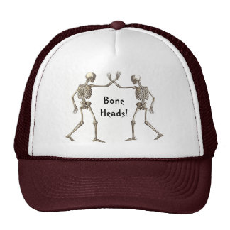 El hueso dirige el gorra de los esqueletos