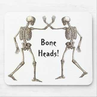 El hueso dirige los esqueletos Mousepad Alfombrilla De Raton
