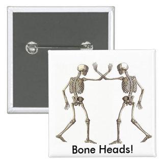 El hueso dirige los esqueletos pin cuadrado