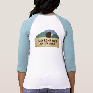 El hueso grande se lame, parque de estado camisetas