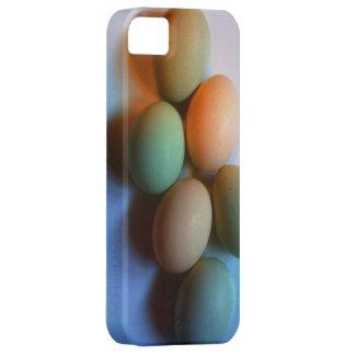 El huevo cáscara cubre para su caja del teléfono iPhone 5 coberturas