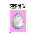 El huevo del conejito sello