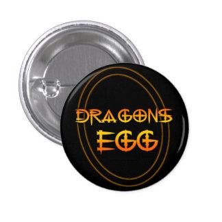 El huevo del dragón pin redondo de 1 pulgada