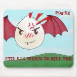 el huevo malvado, huevo malvado quiere matarle, fl alfombrillas de ratones