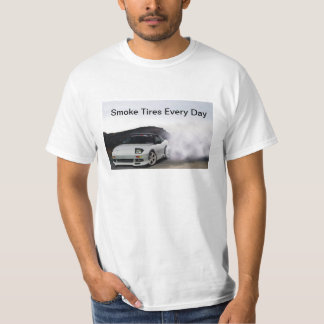 El humo de JDM Nissan 240sx S13 cansa cada día Playera