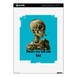 El humo principal de Vincent van Gogh usted se Pegatina Skin Para iPad 3