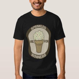 El humor de la camiseta, Sprinkles está para los Remera