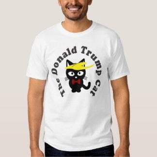 El humor del Toupee del gato de Donald Trump Camisas