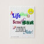 El humor es una cuestión seria rompecabezas