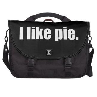 El humor I tiene gusto de la empanada Meme Bolsa Para Ordenador