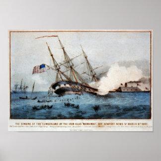 """El hundimiento del """"Cumberland """" Poster"""