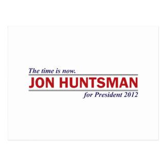 El Huntsman de Jon el tiempo ahora es el Tarjeta Postal