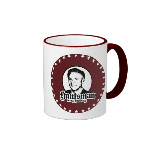 EL HUNTSMAN ES MI HOMEBOY TAZA DE CAFÉ