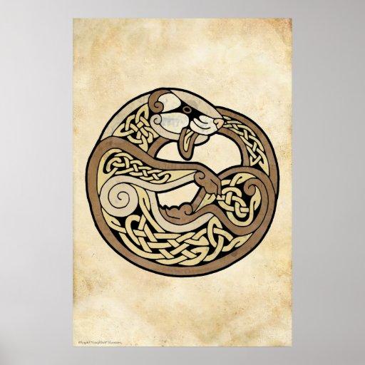 El hurón céltico poster