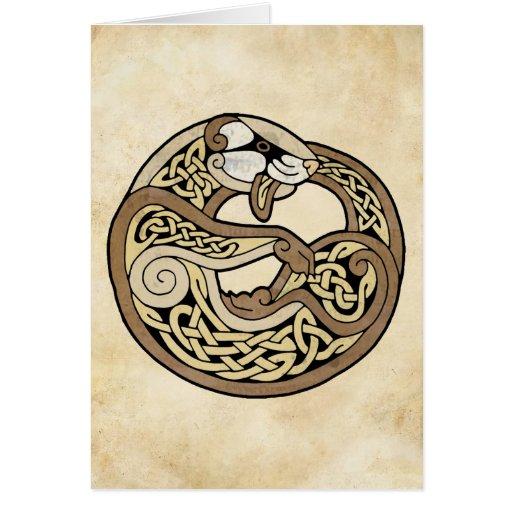 El hurón céltico felicitación