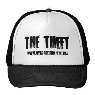 El hurto, www.myspace.com/theftnj - modificado par gorras