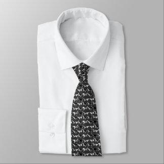 El husky siberiano ata lazos elegantes del corbatas