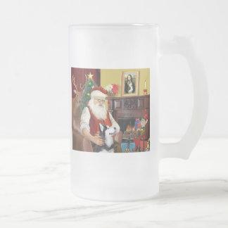 El husky siberiano de Santa Taza Cristal Mate