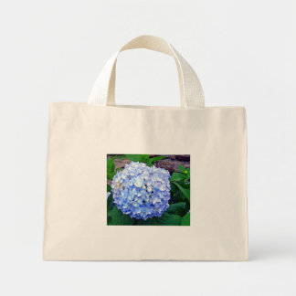 El Hydrangea azul Bolsas De Mano