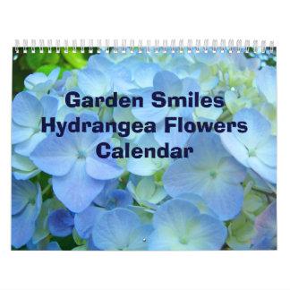 El Hydrangea de las sonrisas del jardín de los cal Calendarios