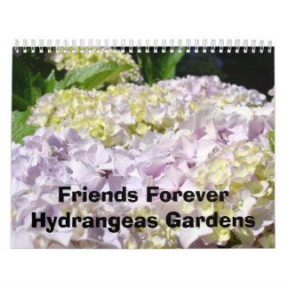 El Hydrangea de los amigos cultiva un huerto para