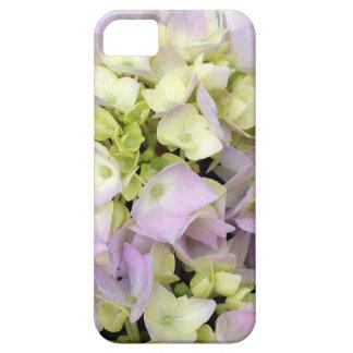 El Hydrangea suave de la primavera florece verde iPhone 5 Case-Mate Protector