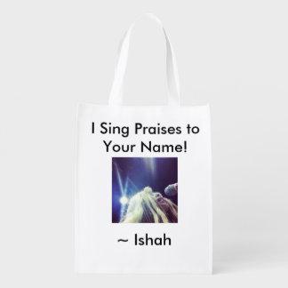 El I de Ishah canta a alabanzas el bolso reutiliza Bolsa De La Compra
