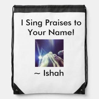 El I de Ishah canta alabanzas a su mochila conocid