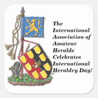El IAAH celebra día internacional de la heráldica Pegatina Cuadrada