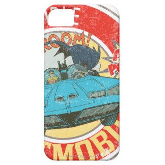 El icono increíble de Batmobile iPhone 5 Carcasa