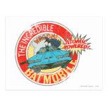 El icono increíble de Batmobile Postales