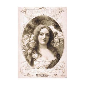 El ídolo del sur lona de Mabel Paige imprime Impresión En Lona