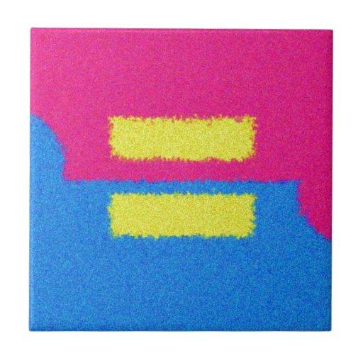 El igual endereza el logotipo, el estilo del impre azulejo