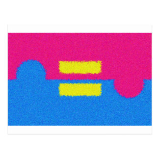 El igual endereza el logotipo, el estilo del tarjetas postales