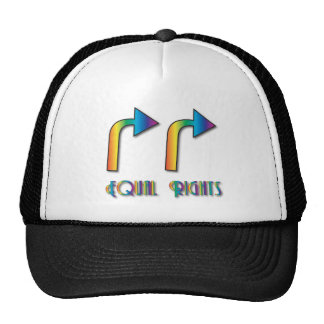 El igual endereza el partidario gorra