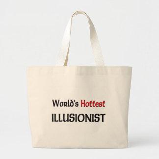 El ilusionista más caliente de los mundos bolsa lienzo